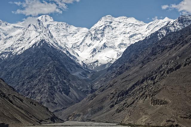 Pakistan, Anoshah Glacier, Glacier, Snow, Hindu Kush