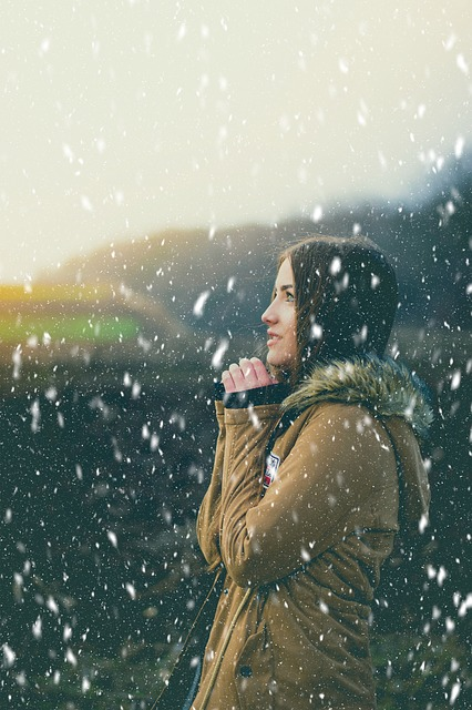 Girl, Sunset, Snow, Beauty, In The Evening, Sky, Story