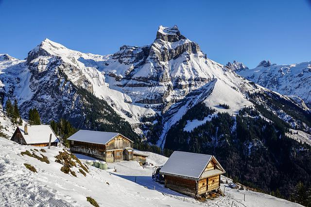 Winter, Mountain World, Alp, Panorama, Snow Landscape