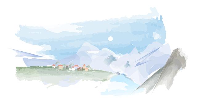 Mountain, Landscape, Snow, Nature, Winter, Trekking