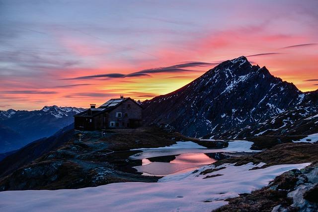 Mountain, Snow, Panorama, Travel, Landscape, Sky