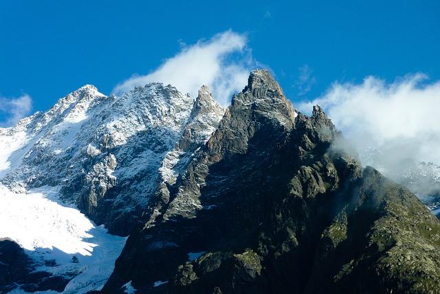 White, Snow, Mountaineering, Rock, Sky, Ice, Top