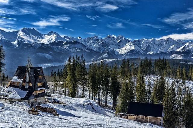 Tatry, Snow, Mountains, Winter