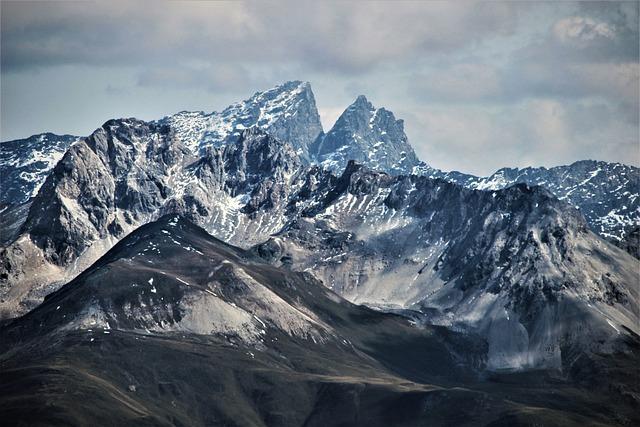 Mountain, Panorama, Snow, Mountain Summit, Glacier