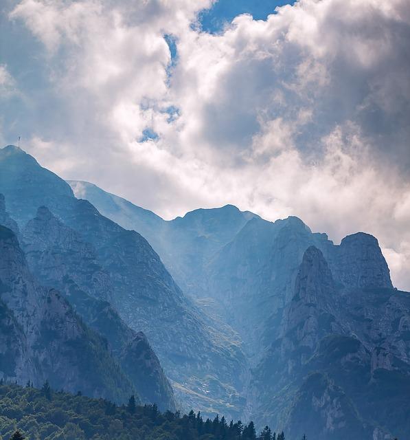 Mountain, Panoramic, Snow, Travel, Nature, Sky