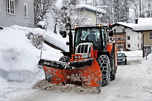 Snow Plough, Room Service, Snow, Winter Service, Winter