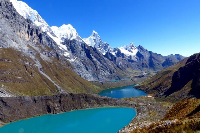 Huayhuash, Peru, South America, Glacier, Snow