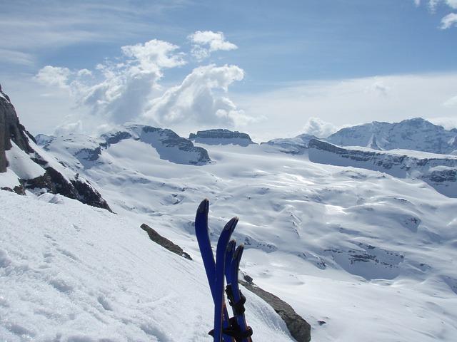 Snow, Backcountry Skiiing, Winter, Panorama, Sun