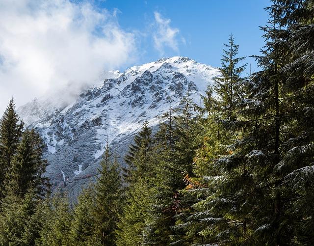 Mountains, Tatry, Snow, Landscape, Mountain