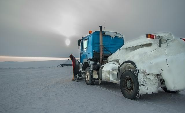 Norway, Northern Cape, Snow Thrower, Lapland