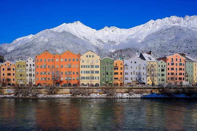 Innsbruck, Austria, Winter, Snow, Mountain, Landscape