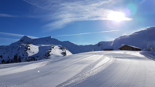 Snow, Mountain, Panoramic, Winter, Nature, Landscape