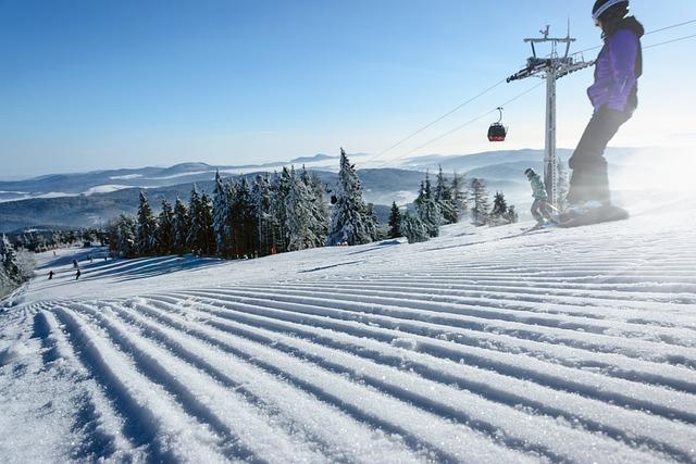 Ski Slope, Winter, Snow, Cold, Frost, Frozen, Alpine