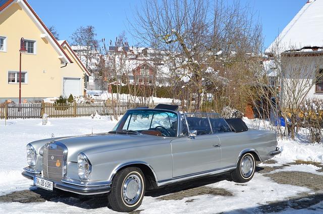 Auto, Vehicle, Winter, Snow
