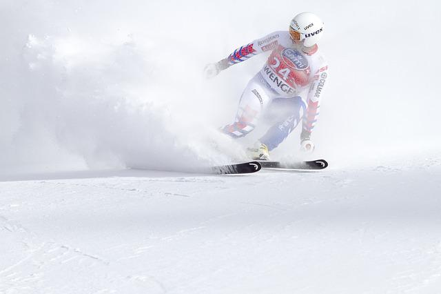 Ski Race, World Cup, Sport, Man, Speed, Snow