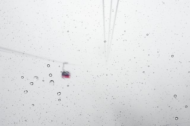 Snow, Blizzard, Gondola Lift, Skiing, Snowboarding