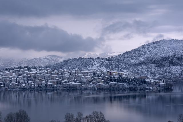 Snow, City, Winter, House, Cold, Snowfall, Village
