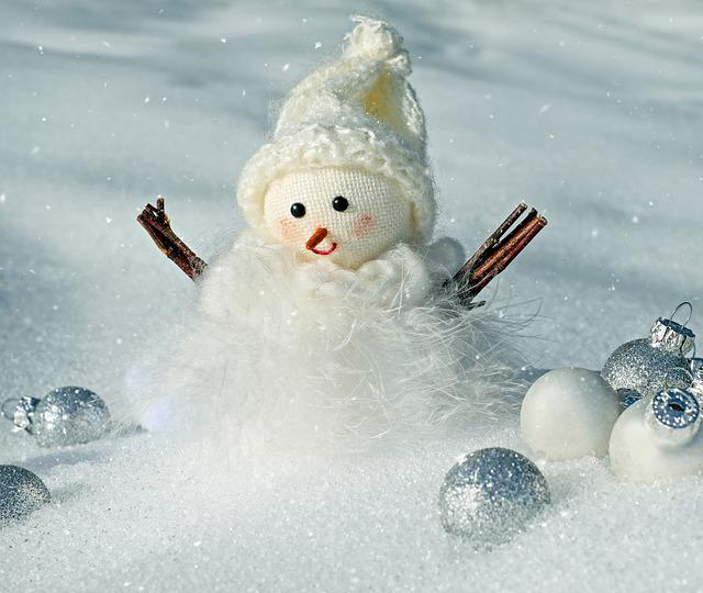 Snowman, Snow, Winter, Cold, Wintry, Snowfall, Figure