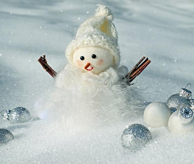 Snowman, Snow, Winter, Cold, Wintry, Snowfall, Figure