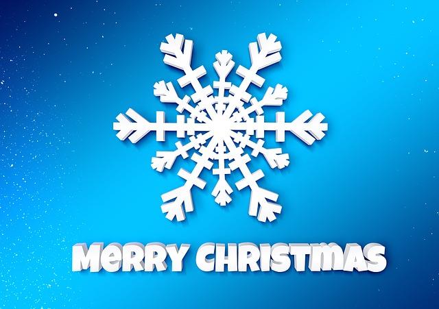 Christmas, Snowflake, Winter, Christmas Card