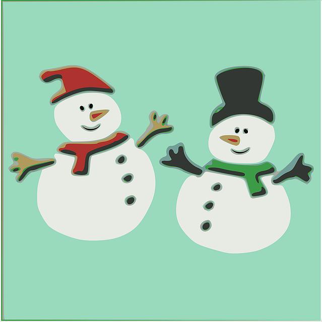 Muffler, Scarf, Snowman, Winter