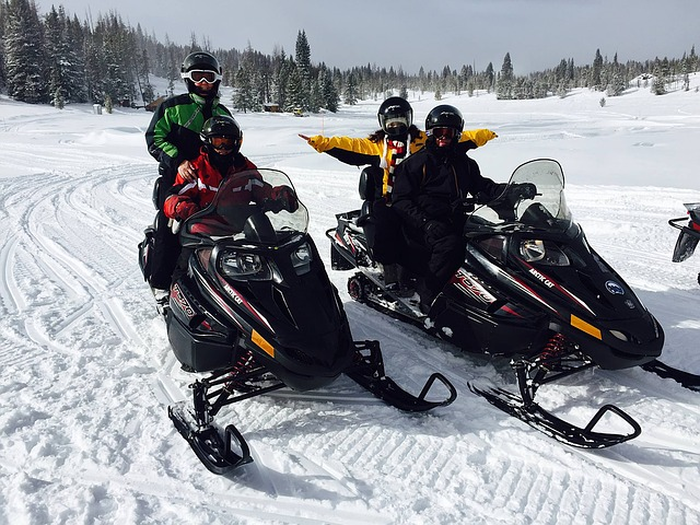 Snowmobiling, Colorado Lifestyle, Snow