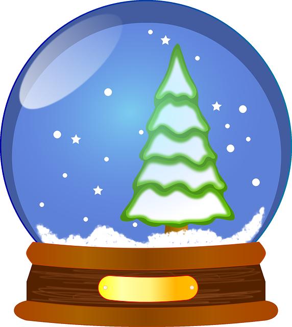 Snow Globe, Waterglobe, Snowstorm, Snowdome