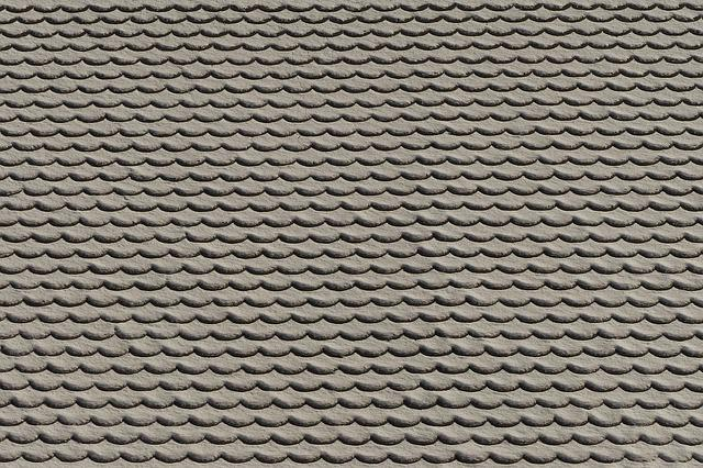 Roof, Tile, Snow, Snowy, Roofing Tiles, Pattern, Brick