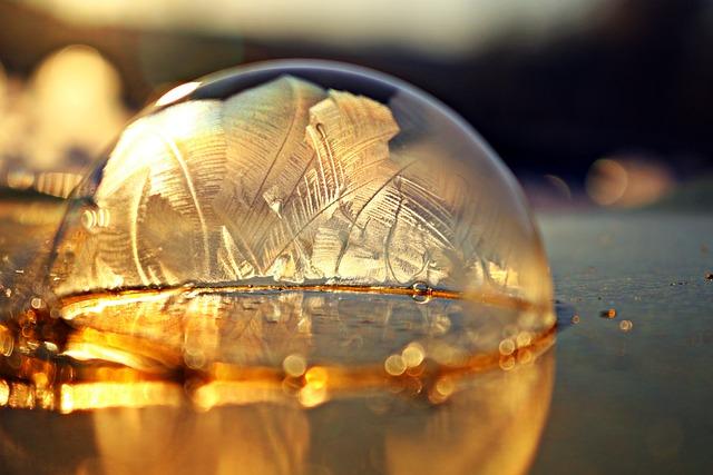 Soap Bubble, Frost Blister, Frost Globe, Frozen Bubble