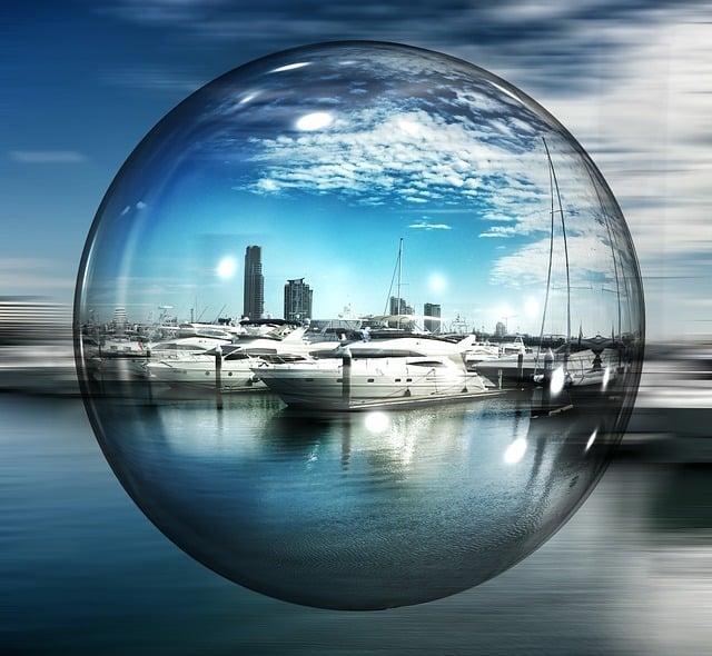 Marina, Gold, Soap Bubble, Ball, Coast, Australia