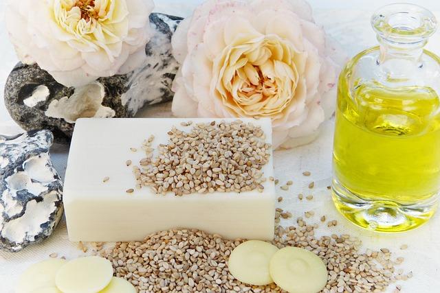 Soap, Rose, Oil, Sesame, Cocoa Butter, Vegetable Fats