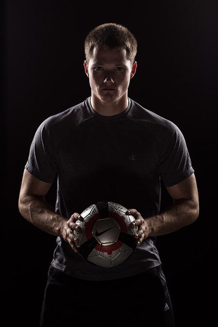 Soccer, Sports, Model, Boy, Man, Guy, Ball, Soccer Ball