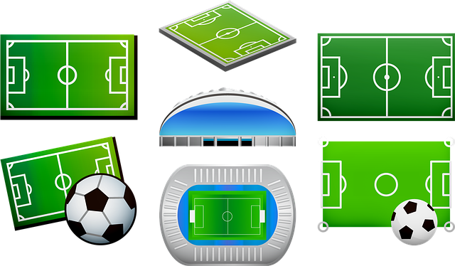 Soccer Field, Football Arena, Soccer Ball, Stadium