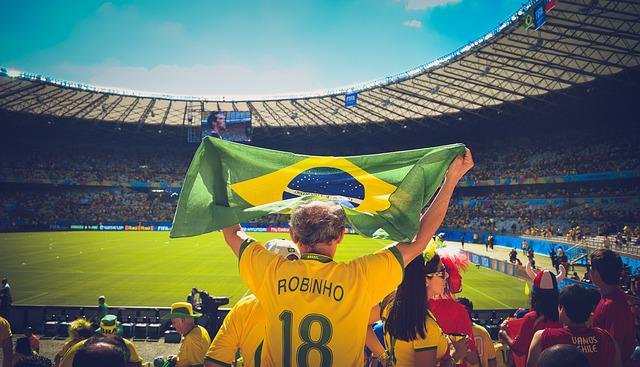 People, Soccer, Stadium, Crowd, Audience, Sports, Flag