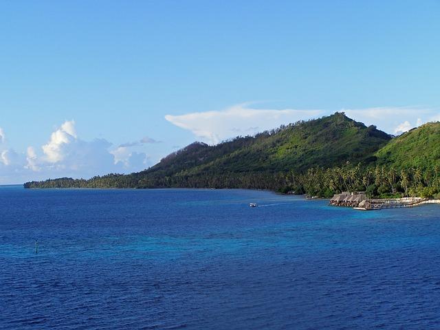 Bora, Bora French, Polynesia, Society, Island, Tropical