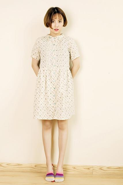 Sock, Floral Skirt, Japanese, Girls, Juarez, Bid, Woman