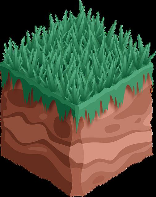 Sod, Earth, Grass, Square, Soil, Nature