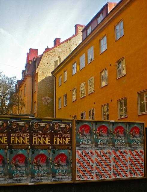 Facade, Poster, Södermalm, Stockholm