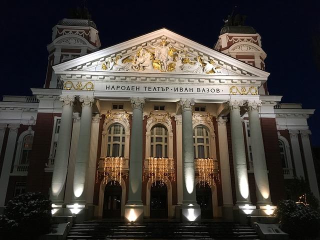 Sofia, Bulgaria, National Theater Ivan Vazov