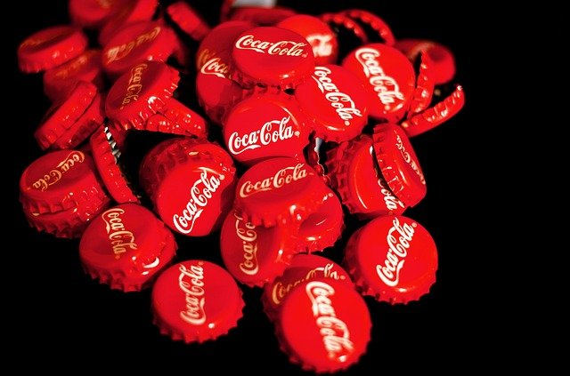 Coca Cola, Crown Corks, Red, Soft Drink