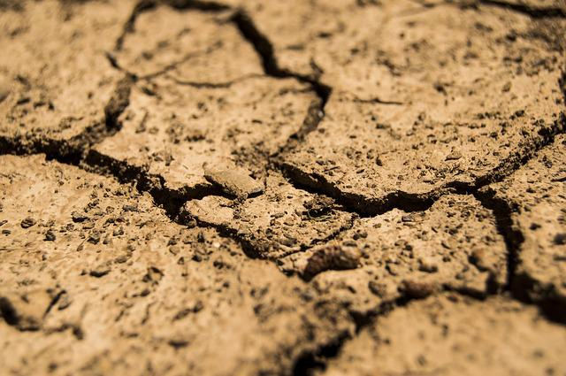 Drought, Aridity, Dry, Earth, Soil, Brown, Quartered