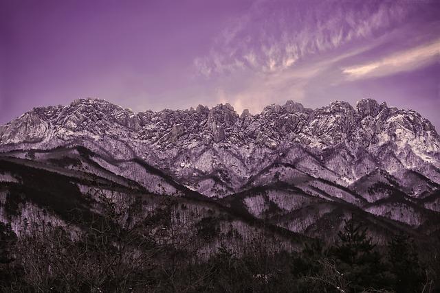Mt Seoraksan, Ulsan Rock, Landscape, Sokcho, Gangwon Do