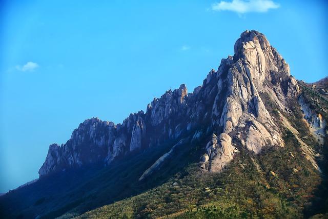 Mt Seoraksan, Ulsan Rock, Scenery, Travel, Rock, Sokcho