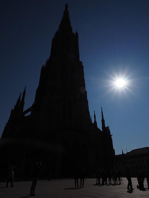 Ulm Cathedral, Solar Eclipse, Münster, Ulm, Building