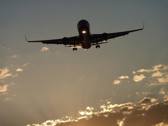 Aircraft, Boeing, Sun, Solar Ortho