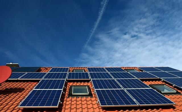 Solar System, Roof, Power Generation, Solar Power