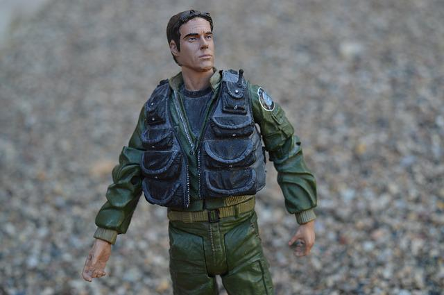 Action Figure, Military, Army, Man, Soldier, Toy