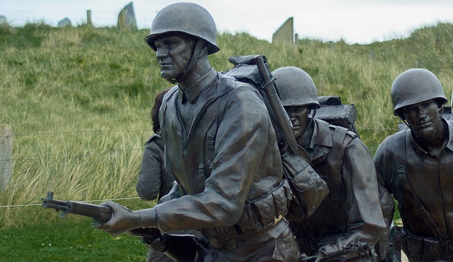 D Day, Omaha Beach, Landing, Soldiers