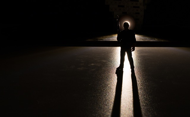 Soldiers, Dark, Light And Shadow, Backlighting, Toys