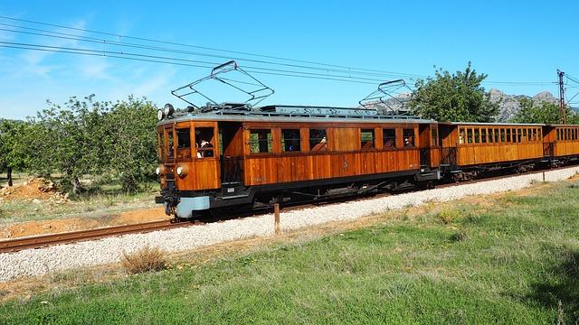Railway, Soller, Mallorca